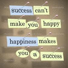 The recipe for success: get happy and you will get ahead in life