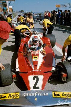 Regazzoni 1976 Spain Ferrari 312T2