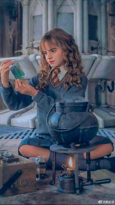 Hermione Granger em uma aula de Poções, com toda certeza sendo perfeita kkkk, Hermione sendo Hermione kk💕 Estilo Harry Potter, Arte Do Harry Potter, Harry Potter Ron Weasley, Harry Potter Icons, Harry Potter Tumblr, Harry James Potter, Harry Potter Jokes, Harry Potter Pictures, Harry Potter World