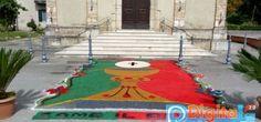 Comunità di Sant'Eleuterio Arce #diocesisora #pastoraledigitale #ricliccalinfiorata #infiorata2016 #corpusdomini #Arce (Fr) Lazio, Italy