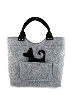 The Bag Was Made From Ilized Felt Felts Thickness Is 0 16 4mm So