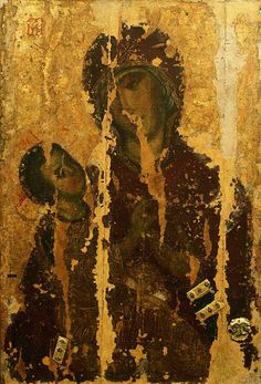 Virgin and Child old icon from Holm Day Of Pentecost, Mama Mary, Byzantine Art, Holy Mary, Historical Images, Holy Family, Orthodox Icons, Blessed Mother, Mother Mary