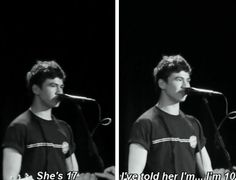 See this is why I want to go to one if their concerts. Is they forget the words they're just like fuck it and pick random words. Their so real on stage Calum Thomas Hood, Calum Hood, 5sos Funny, Past Love, Luke Roberts, Cher Lloyd, Michael Clifford, Luke Hemmings, Save My Life