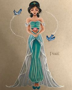 Klohart Disney Jasmine