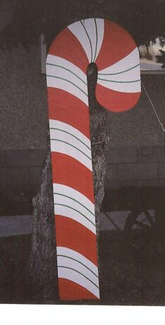 DT-122 Giant Candy Cane Pattern