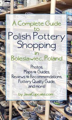 Polish Pottery Shopping in Boleslawiec, Poland - A Complete Guide | JavaCupcake.com