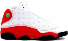 53340267f596b3 Jordans Shoes Air Jordan 13 White Black True Red Pearl Grey  Air Jordan 13  - When Michael Jordan was home in 1998 the best pair of sneakers to match  his ...