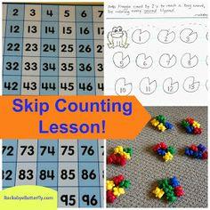 http://www.teacherspayteachers.com/Product/Skip-Counting-Hand-Drawn-Printables-976601