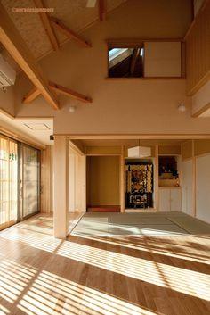 アグラ設計室 一級建築士事務所 agra design room の アクセサリー&デコレーション 既成概念を少しだけ崩した空間 No es la arquitectura japonesa legítima correcta. El espacio que rompió sólo algunas ideas fijas.