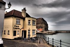 The Cod and Lobster Staithes by Tim Barber www.realyorkshiretours.co.uk
