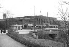Немецкая Восточная Ярмарка.Дом Техники.Выставочный зал для машин.1939 г.