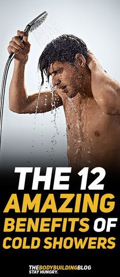 Check out The 12 Amazing Healthy Benefits of Cold Showers! #fitness #health #gym