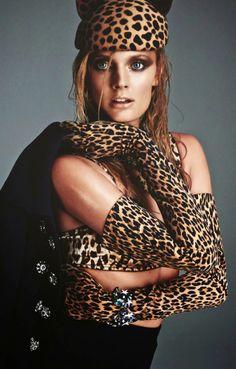 Constance Jablonski in 'Cat Woman' by Greg Kadel for Numéro, November 2014