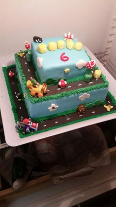 Tysons 6th birthday cake