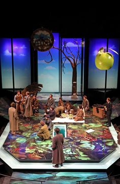 As You Like It. Stratford Festival. Scenic design by Debra Hansen. 2010