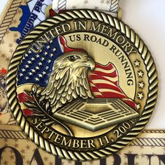 US Road Running. Virtual Races for Running. Patriots Day, Road Running, Racing, Number, Top, Hanging Medals, Spinning Top, Lace, Crop Shirt