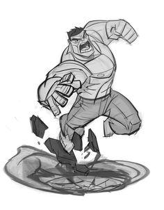 Resultado de imagem para hulk poses
