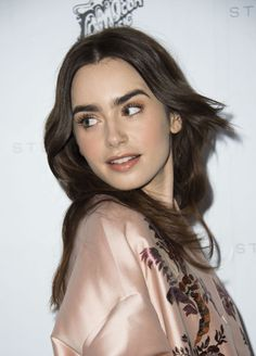 Lily attends Stella McCartney Autumn 2016 Presentation in Hollywood on January, 12.