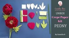 Welcome to my channel Camellia Bees with DIY projects! I love to create paper craft specially flowers. I usually use crepe paper, tissue . How To Make Paper Flowers, Crepe Paper Flowers, Burlap Flowers, Fake Flowers, Hello Craft, Flower Step By Step, Coffee Filter Flowers, Paper Flower Tutorial, Flower Making