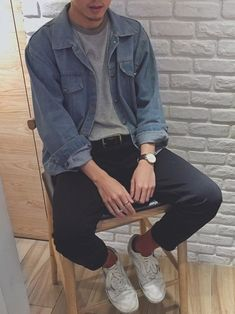 Source by gididerboy casual outfits Fashion 90s, Tokyo Street Fashion, Korean Fashion Men, Grunge Fashion, Teen Boy Fashion, Preppy Mens Fashion, Celebrities Fashion, Fashion History, Fashion Fashion