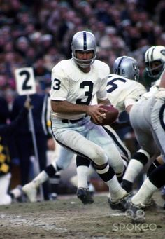 Pics of Daryle Lamonica from Nov 30, 1969. Oakland Raiders quarterback Daryle Lamonica (3) drops back against the New York Jets at Shea Stadium....