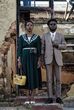 Loux is now collaborating with Khumbula, a group of stylists and designers from Johannesburg, SA