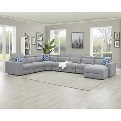 Products Ebern Designs Zerangue Right Hand Facing Modular Sectional Vacuums With Bag Or Without? Living Room Sofa Design, Living Room Sectional, Home Living Room, Living Room Designs, Living Room Decor, Large Sectional Sofa, Sofa Set, Corner Sectional, U Shaped Sectional Sofa