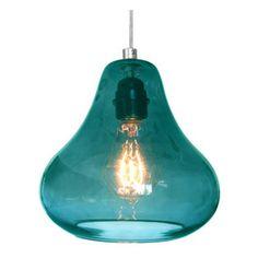 Kiss Pendant Lamp Aqua By Luxello LED - modern - pendant lighting - Surrounding - Modern Lighting & Furniture Led Recessed Lighting, Modern Lighting, Lighting Design, Pendant Lighting, Pendant Lamps, Lighting Concepts, Lighting Ideas, Chandelier, Aqua