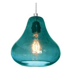Add a splash of colour with some Pendant Lighting