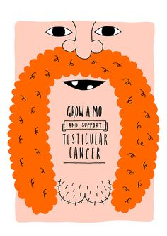 Movember Posters by Woody Woods, via Behance
