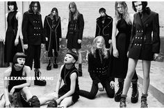 Alexander Wang - ad campaign Fall Winter 2015