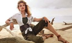Natalia Vodianova Goes Natural for Cover Story of ELLE France - Fashion Gone Rogue