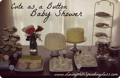 baby shower wishing well | This past weekend I had the great privilege of hosting a baby shower ...