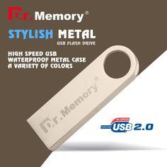 Dr.memory metal USB Flash Drive tiny Pen Drive USB 2.0 Gift 4GB 8GB 16GB 32GB Pendrive USB Stick USB 2.0 waterproof u disk