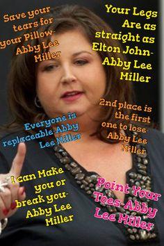 My Abby Lee Miller edit lol @@ʊbཞℰყ @ℜⅈaℕa ♡