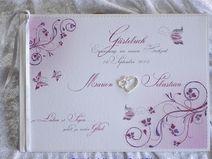 Gästebuch Hochzeit,Flieder-Lila-Beere,Gästebuch,85