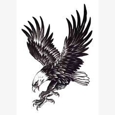 Cheap eagle tattoo, Buy Quality tattoo for men directly from China fake tattoo Suppliers: Cool Eagle Tattoo For Men Waterproof Temporary Tattoos Water Transfer Stickers On The Body Fake Tatoo Sleeves Fake Tattoos Bild Tattoos, Body Art Tattoos, New Tattoos, Tattoos For Guys, Cool Tattoos, Celtic Tattoos, Star Tattoos, Tattoo Drawings, Forearm Tattoos