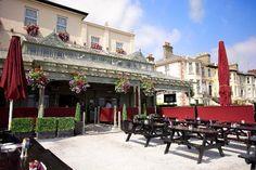Outside Beer Garden Room Reservation, Ireland Wedding, Beer Garden, Trip Advisor, Bar, Restaurant, Bray Ireland, Mansions, House Styles