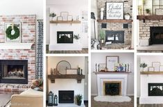 23 Gorgeous Brick Fireplace Ideas to Make You Fall in Love With Your Living Room