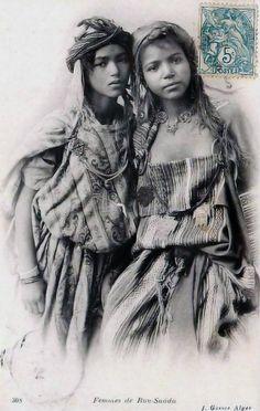 Femme de Bou-Saada  Algerie. 1912