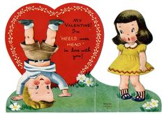 Valentine's Day vintage | ... Vintage Holiday Crafts » Blog Archive » Free Vintage Kids Valentine