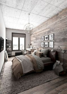 Amazing 35 Outstanding Rustic Master Bedroom Decorating Ideas https://toparchitecture.net/2018/04/07/35-outstanding-rustic-master-bedroom-decorating-ideas/