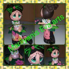 Mas regadera fofucha handmade by Marilyanis Eva Arts