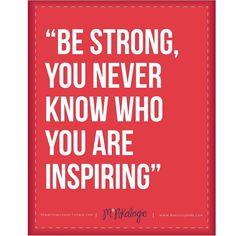 Inspiring..