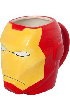 Iron Man Mug: Super Heroes Marvel Comics, Iron Man Glassware