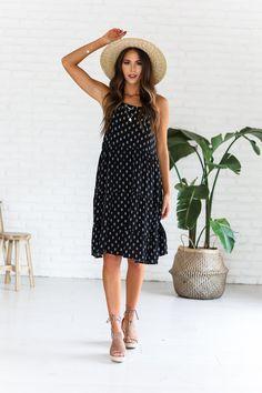 Black Easton Dress