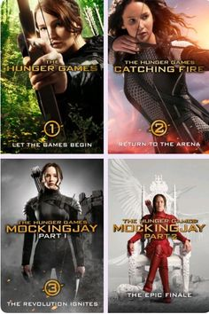 The Hunger Games to Mockingjay Part 2!