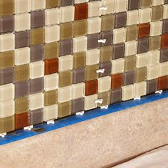 Give your kitchen a new look in just one weekend with a do-it-yourself tile backsplash. It's easy with our free printable guide and simple-to-install mosaic tile sheets. Mosaic Tile Sheets, Bath Tiles, Kitchen Backsplash, Diy Kitchen, Kitchen Ideas, Home Improvement Projects, Home Projects, Craft Projects, Cabinets And Countertops