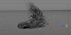 RevReveal Objects using MoGraph Effectors in Cinema 4d