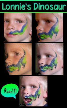 Cool T Rex Design for little boys ♥'d by http://makeupartistrycairns.com.au…